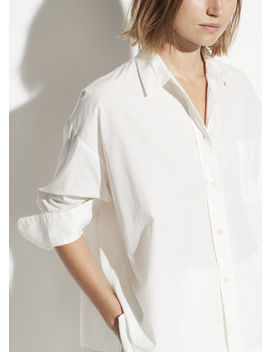 Boxy Long Sleeve Shirt by Vince