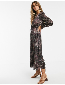 &-other-stories-wrap-front-maxi-dress-in-paisley-print by &-other-stories