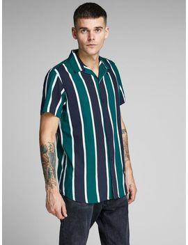 A Righe Camicia A Maniche Corte by Jack & Jones