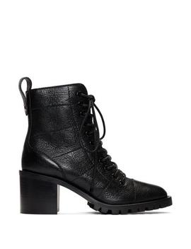 Cruz 65 Laceup Leather Ankle Boot by Fivestory