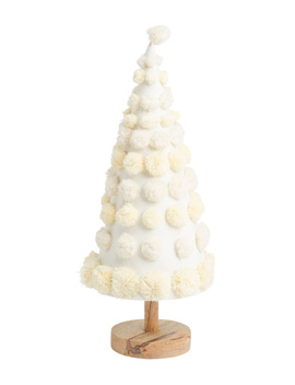 27in Pom Tree On Wooden Base by Tj Maxx