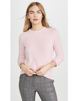 Crew Neck Cashmere Pullover by Theory