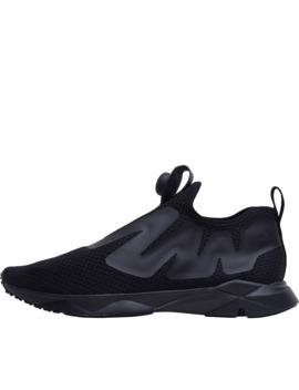 Reebok Pump Supreme Neutral Running Shoes Reveal Black/Coal/Ash Grey by Reebok