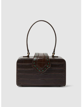 Fey In The 50s Croc Effect Leather Bag by ‎Mehry Mu‎
