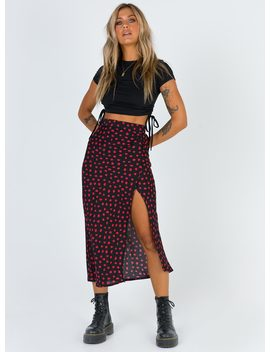 Mabel Midi Skirt by Princess Polly
