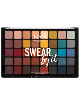 Swear By It Lidschattenpalette Nyx Professional Makeup Paletten by Nyx Professional Makeup
