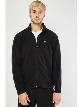 Basic Mens Poly Fleece Jacket by Everything5 Pounds