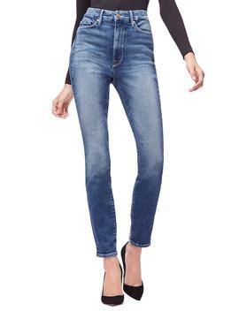 Good Curvy High Waist Skinny Jeans by Good American
