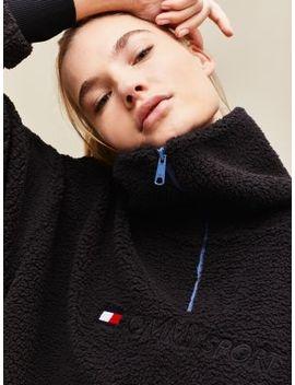 Sherpa Half Zip Sweatshirt by Tommy Sport