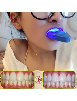Teeth Cold Whitening Instrument Lights Oral Interdental Healthy Teeth Care by Wish