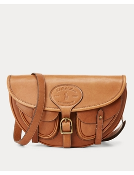 Leather Hutton Convertible Bag by Ralph Lauren