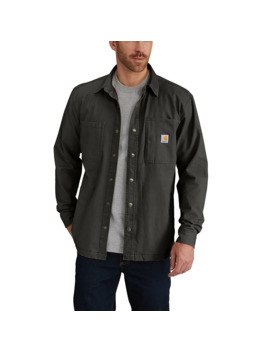 Rugged Flex® Rigby Shirt Jac/Fleece Lined by Carhartt