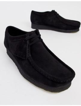 Clarks Originals   Wallabee   Chaussures   Daim Noir by Clarks Originals