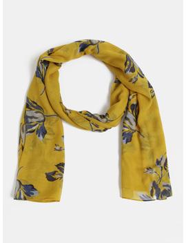 Hořčicový Květovaný šátek Tom Joule Wensley by Tom Joule