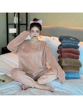 Rerise   Long Sleeve Fleece Pajama Top / Pants by Rerise