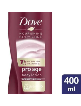 Dove Pro Age Nourishing Body Care Body Lotion 400ml by Superdrug