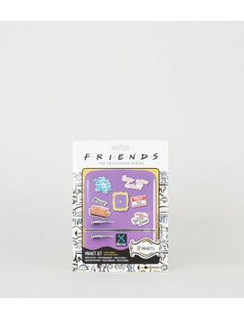 Multicoloured Friends Magnet Set by New Look