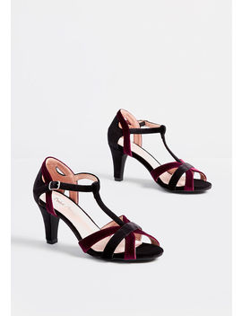 Say Soiree T Strap Heel by Modcloth