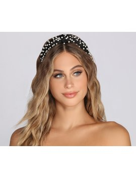 Pearl It Up Headband by Windsor