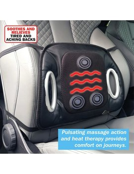 Streetwize Heated Lumbar Massage Cushion921/6761 by Argos