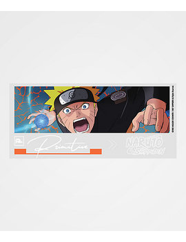 Primitive X Naruto Combat Blue Sticker by Zumiez