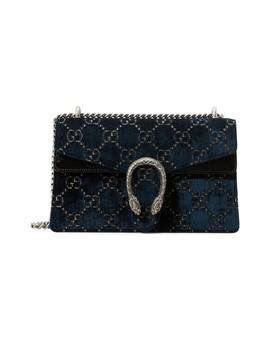 Dionysus Gg Velvet Mm Crossbody Bag by Gucci