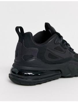 Nike   Air Max 270 React   Baskets   Noir Et Blanc by Nike