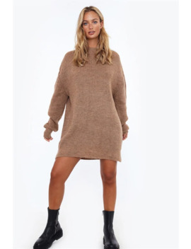 Oversized Pullover Knit Dress by Chiquelle