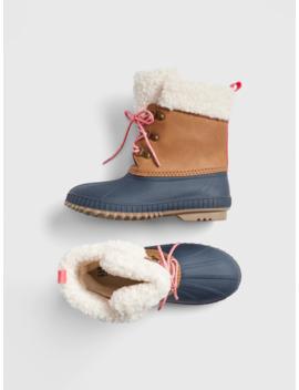 Kids Sherpa Duck Boots by Gap