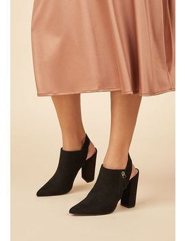 Katherine Slingback Ankle Boot by Justfab