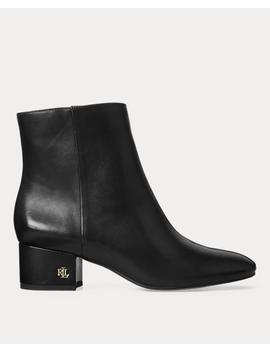 Welford Leather Bootie by Ralph Lauren