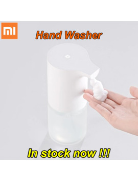 Original Xiaomi Mijia Automatic Induction Foaming Hand Washer Wash Automatic Soap 0.25s Infrared Sensor For Smart Homes by Ali Express.Com