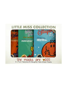 Little Miss Trio Sheet Face Mask Set by Superdrug