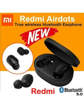 Original New Xiaomi Redmi Airdots Wireless Earphone W/ Charger Box Bluetooth 5.0 by Xiaomi
