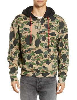 Levi's(R) X Justin Timberlake Half Zip Hooded Sweatshirt by Levi's
