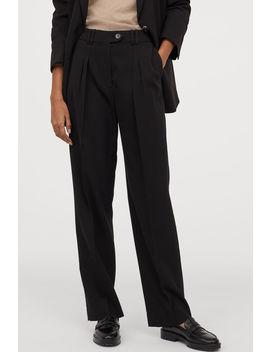 Pantaloni In Lana by H&M
