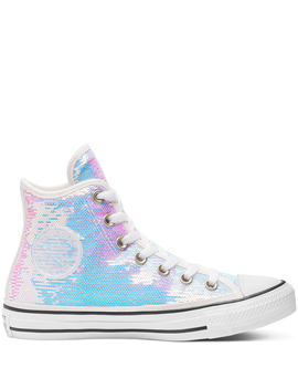 Womens Mini Sequins Chuck Taylor All Star High Top by Converse