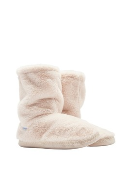 Homestead Luxe Faux Fur Slipper by Joules