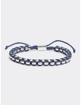 Metal Braided Bracelet by Tommy Hilfiger