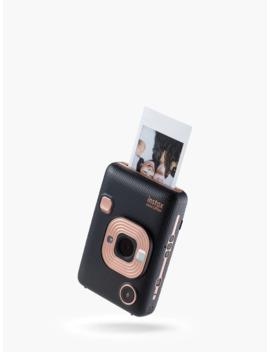 "Fujifilm Instax Mini Li Play Hybrid Instant Camera With 2.7"" Lcd Screen & Built In Flash, Elegant Black by Fujifilm"