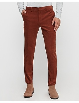 Extra Slim Rust Corduroy Suit Pant by Express