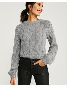 Chunky Crew Neck Sweater by Abercrombie & Fitch