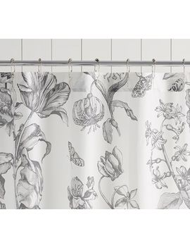Pippa Print Shower Curtain by Pottery Barn