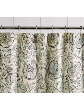 Haylie Print Shower Curtain by Pottery Barn