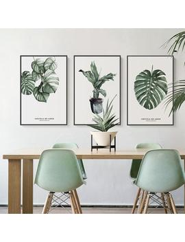 Elegant Green Plant Printing Stylish Picture Home Hotel Decoration Gift (Without Frame) by Ali Express.Com