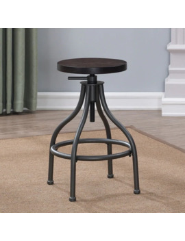 Canyon Backless Adjustable Height Stool By Greyson Living by Generic