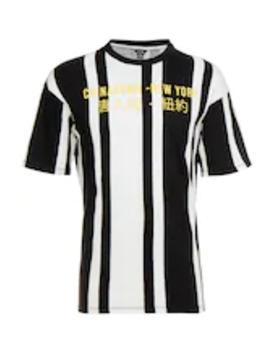 Onshong Stripe Tee   T Shirt Z Nadrukiem by Only & Sons