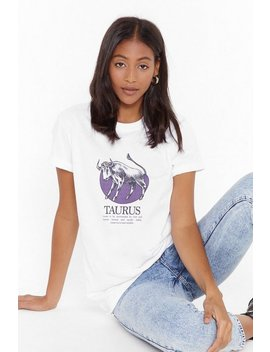 Tell Me Your Star Sign Taurus Graphic Tee by Nasty Gal