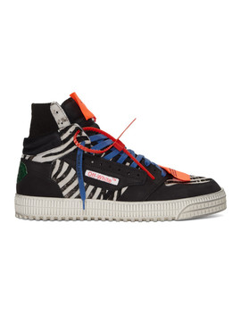 Black All Over Off Court 3.0 Sneakers by Off White