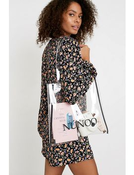 Nunoo Small Transparent Plastic Tote by Nunoo